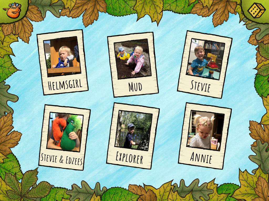 Train children's vocabulary with custom cards in this activity.